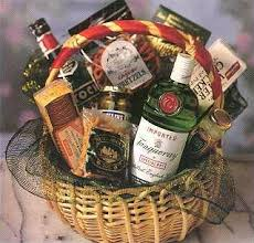 sendchagne gift delivery liquor baskets perfect tanqueray martini gift basket
