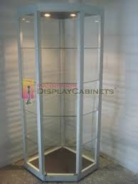 Free Standing Display Cabinets FREE STANDING DISPLAY CASES MADE IN THE USA Mannequin Display 71
