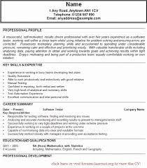 Sample Testing Resumes For Manual Testing Sample Resume Software Tester  Download Mobile Device Tes And Sample