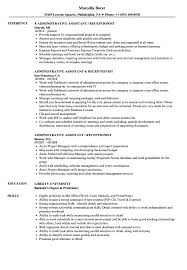 Administrative Assistant / Receptionist Resume Samples | Velvet Jobs