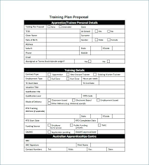 Training Proposal Templates Free Sample Example Format Project Plan ...