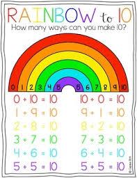 Rainbow To 10 Freebie