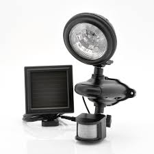 solar powered led security light weatherprof with pir motion detection