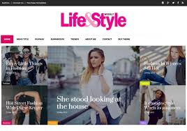 Style Templates Life And Style Blogger Template Blogspot Templates 2019