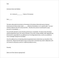 No Call No Show Termination Letter Sample Sample Certificate Letter
