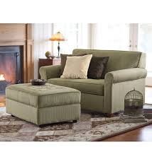 chair and a half sleeper. plow and hearth twin sleeper chair-and-a-half $800 storage ottoman $400 chair a half d