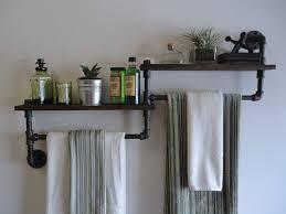 Awesome Plumbing Pipe Furniture Designs Industrial Bathroom - Bathroom towel design