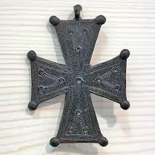 cross by romanian artist ovidiu simionescu