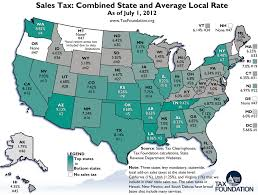 Monday Map State And Local Sales Tax Rates As Of July 1