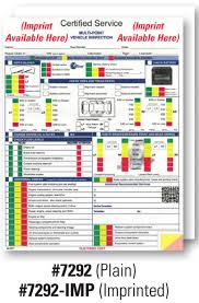 inspection sheet gm multi point inspection forms from us auto supplies us auto supplies