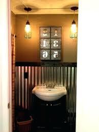 corrugated metal bathroom 1 photo of 8 best tin shower walls ideas sheet bathroo