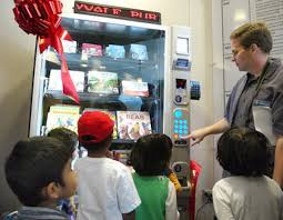 Kid In Vending Machine Fascinating A Book Vending Machine And Other News