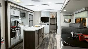 Travel trailers interior Teardrop Keystone Introduces New Coastal Cottage Interior For Its Bullet Travel Trailers Forest River Inc Keystone Introduces New Coastal Cottage Interior For Its Bullet