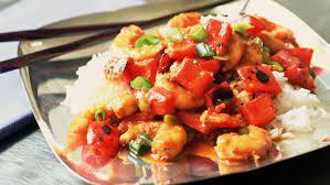Easy Thai Sweet & Sour Stir-Fry Shrimp Recipe