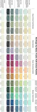 Bh Paint Color Chart Dulux Heritage Colour Chart Full Range Of 112 Colours In