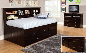 day beds with storage. Contemporary Day Discovery World Furniture Espresso Twin Captain Day Beds With Storage E