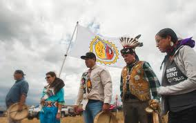 stand off in the great plains as native americans fight oil stand off in the great plains as native americans fight oil pipeline construction cbs news