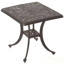 outdoor patio furniture end tables