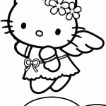 Hello kitty coloring pages are images of the fictional hero who is thought up by the japanese designer yuko shimizu. Hello Kitty Coloring Pages Coloring Pages For Kids
