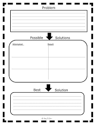 best problem and solution ideas text mama  problems and solutions anchor chart and graphic organizers