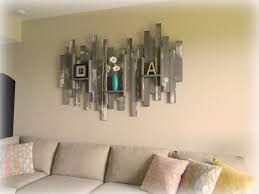 Decorations:Graceful Basement Wall Art With Decorative Wood Shelves For  Traditional Interior Design Ideas Easy