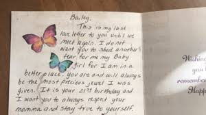 Woman Receives Heartbreaking Letter From Her Late Father On Her 21St ...