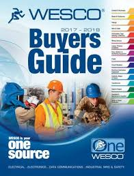 2017 2019 Wesco Electrical Buyers Guide By Wesco