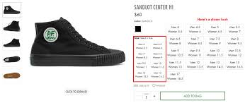 Pf Flyers Size Chart Where Can I Find Womens Sizes Pf Flyers