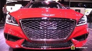 2018 genesis 3 3t. interesting genesis 2018 genesis g80 sport  exterior and interior walkaround 2017 detroit  auto show throughout genesis 3 3t u