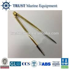Brass Stainless Steel Nautical Equipment Chart Dividers Buy Chart Dividers Brass Stainless Steel Chart Dividers Navigation Chart Dividers Product