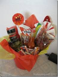chili cook off prize gift basket themed gift basket