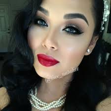 image result for great gatsby makeup for dark skin
