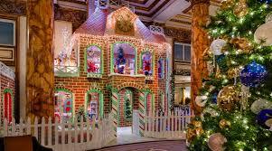 best hotel gingerbread house displays