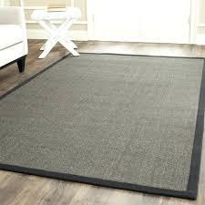sisal rug with border casual natural fiber charcoal and charcoal border sisal rug sisal rug border