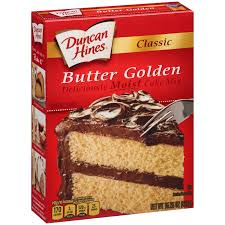 Classic Butter Golden Cake Mix Duncan Hines