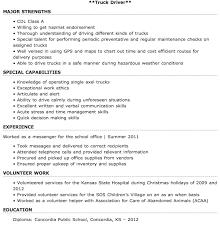 Entry Level Truck Driver Resume Sample Http Resumesdesign Com