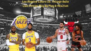 Los Angeles Lakers Vs. Chicago Bulls Live Play By Play & Reaction - YouTube