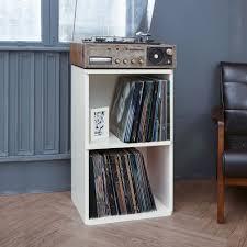 absolutely vinyl record storage 2 cube in white way basic closet organizer ikea uk box idea diy cabinet australium
