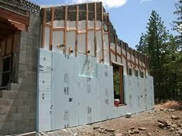 exterior wall foam board. screwing 4\ exterior wall foam board x