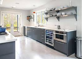 kitchen countertops shelf modern kitchen with stainless steel shelves kitchen countertop storage solutions kitchen countertops shelf