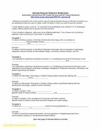 General Resume Objectives Statements Aurelianmg Com