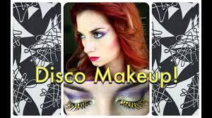 vine 1970 s sparkly disco makeup tutorial by cherry dollface