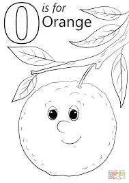 Orange Coloring Page Free Colouring Pages #9350
