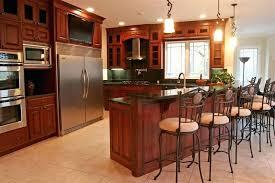 a modern kitchen plan presented black marble ceramic tiles for an arrangement home depot wood countertops