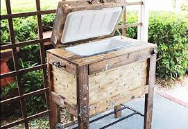 rustic diy furniture. easy pallet project ideas diy outdoor furniture tutorials rustic cooler box diy t