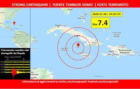 Mar dei Caraibi – Terremoto – 28.01.2020