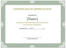 Certificate Of Appreciation Templates Free Download Word Certificate Template 49 Free Download Samples Examples