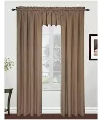 Image Window Curtains Darazpk Fancy Jaquard Tape Curtain For Homeoffice 2pc Brown
