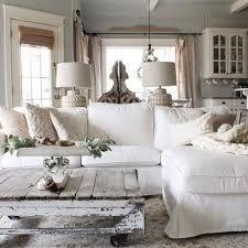 chic living room. Beautiful White Shabby Chic Living Room Decoration Ideas 13