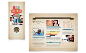microsoft office catalog templates education training tri fold brochure templates word publisher